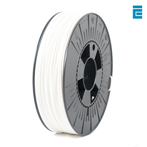 ICE Filaments ICEFIL3PLA006 PLA filament, 2.85mm, 0.75 kg, Wondrous White