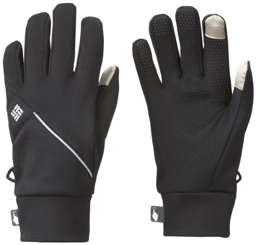 Columbia W Trail Summit Running Glove - Guantes para mujer, color negr
