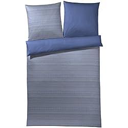 JOOP! Bettwäsche Woven | 2 deep blue - 135 x 200 cm
