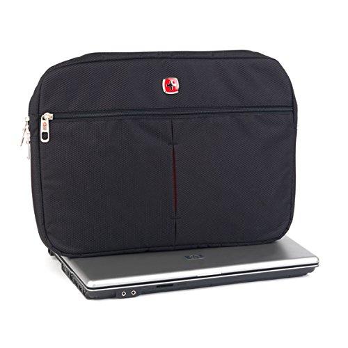 Wenger 1904006schwarze Schutzhülle für Laptops mit Displaygröße 39,6 cm (15,6 Zoll)