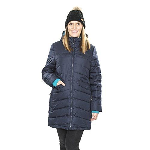 Trespass Homely, Navy, XXS, Wasserdichte Jacke mit abnehmbarer Kapuze für Damen, XX-Small / 2XS / 2X-Small, Blau - 3