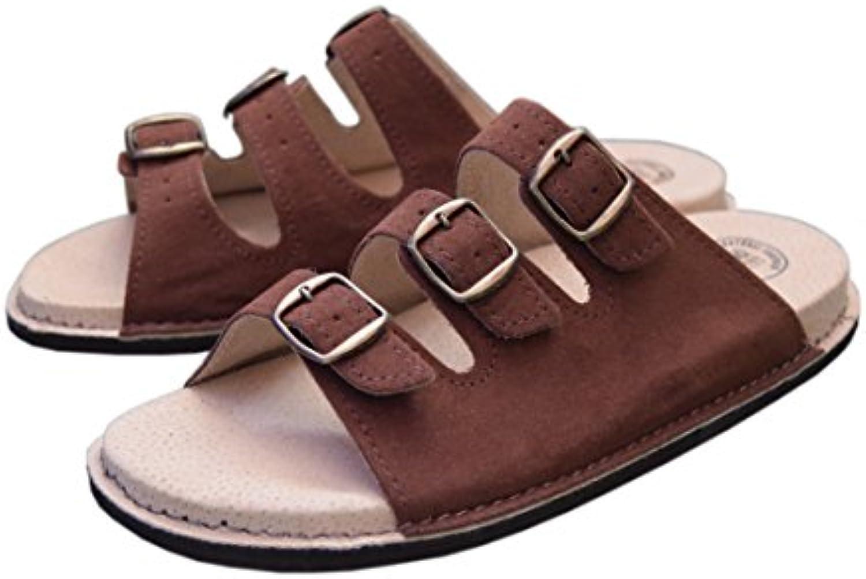 WJC    Damen Unisex Erwachsene Herren Unisex Sandalen   braun   braun   Größe: 38