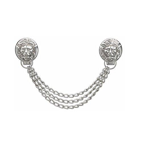 FHB accessori di abbigliamento gilda catena testa di leone, Argento, 88900