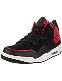 official photos fcb5e 9eed3 Nike Herren Jordan Courtside 23 Basketballschuhe Black Gym Red - Particle  Grey