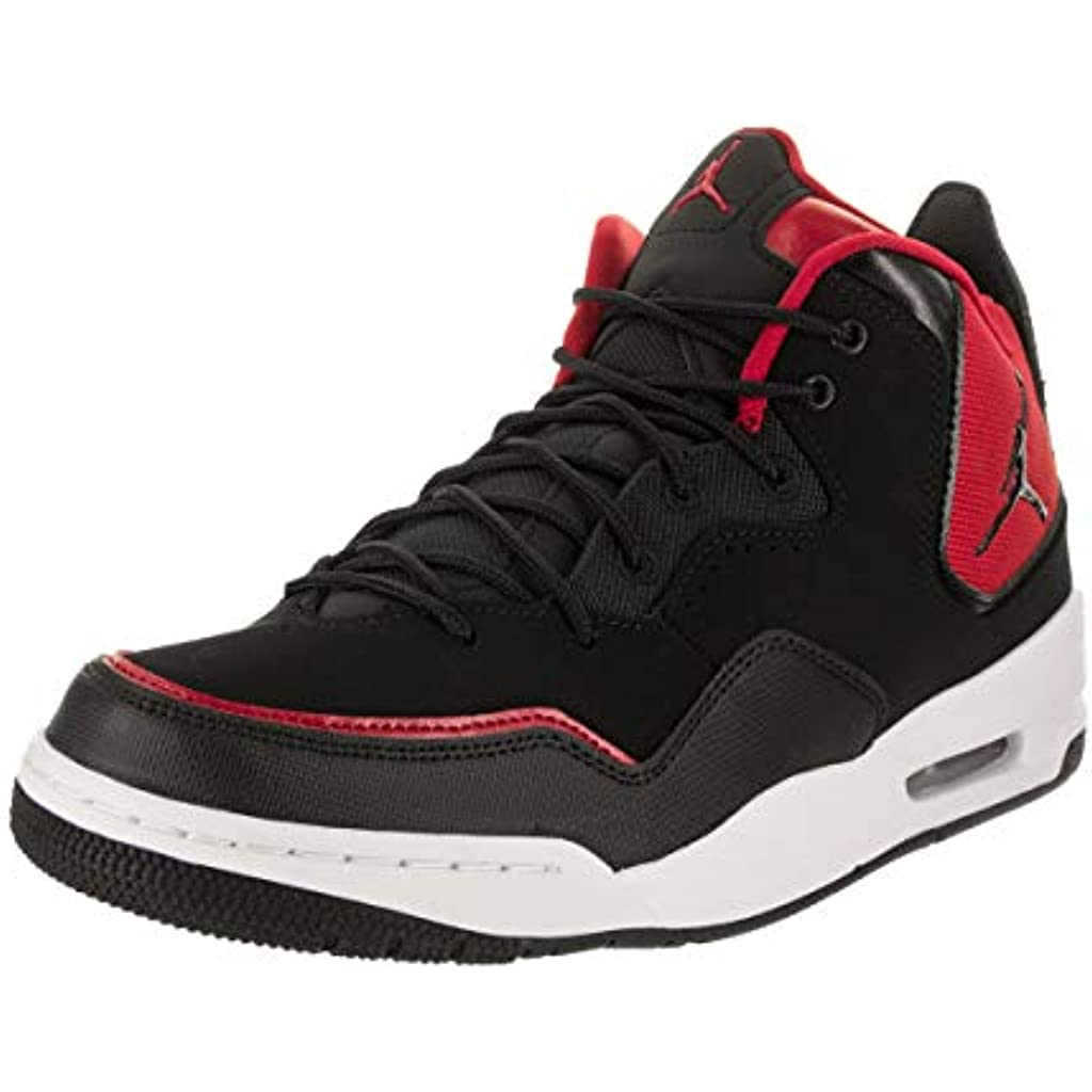 pretty nice 3112b 489b5 NIKE Herren Jordan Courtside 23 Basketballschuhe, Black Gym Red-Particle  Grey