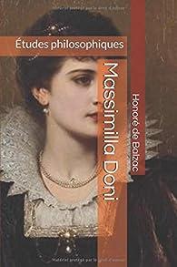 Massimilla Doni: Études philosophiques par Honoré de Balzac
