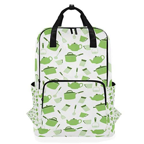 Laptop stilvolle Computer Schule Rucksack lässig tragbare Tasche für Frauen Männer Utensilien