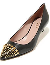 3809G Decollete Donna Nero GUCCI Malaga Scarpa Shoes Women