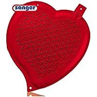 Herz-Wärmflasche 1,65 Liter, Herz Herzform Wärmeflasche ohne Bezug, rot preisvergleich bei billige-tabletten.eu