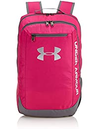 Under Armour Ua Hustle Backpack Ldwr, Mochila para Hombre, Rosa (Tropic Pink)