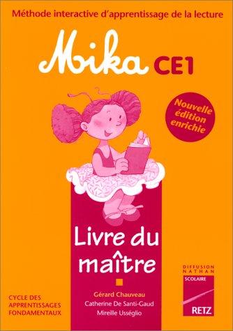 Mika CE1 : le livre du maître