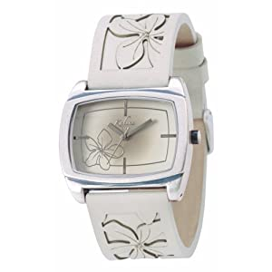 Kahuna KUS-0039L – Reloj analógico de mujer con correa de piel beige