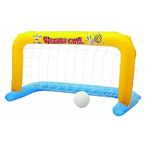 Bestway - But gonflable flottant de water polo, 137 x 66 x 72 cm