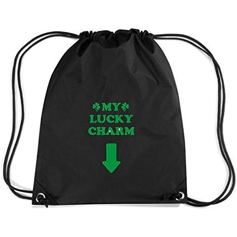 T-Shirtshock - Mochila Budget Gymsac TIR0208 st patricks day lucky charm ringer t