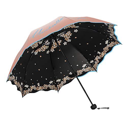 Paraguas Transparentes Protección Solar Paraguas