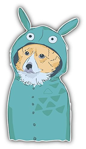 Dog Furry Art Animal Art Decor adesivo
