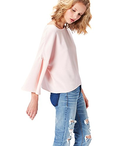 find Marchio T-shirt Girocollo a Manica Lunga Donna