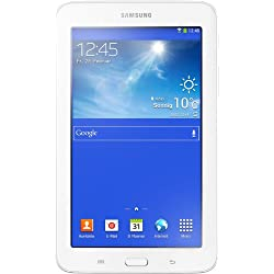 Samsung Galaxy 3 7.0 Lite T110N 17,8 cm (7 Zoll) Tablet (Dual Core Prozessor, 1,2GHz, 1GB RAM, 8GB HDD, Android 4.2, Wi-Fi) creme/weiß