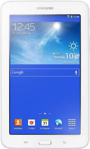 Samsung Galaxy 3 7.0 Lite T110N 17,8 cm (7 Zoll) Tablet (Dual Core Prozessor, 1,2GHz, 1GB RAM, 8GB HDD, Android 4.2, Wi-Fi) creme/weiß (7 Samsung Pulgadas 8gb Tablet)