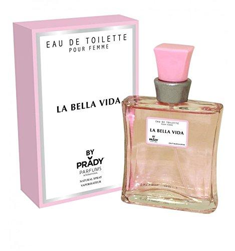 La Bella Vida - Parfum Femme generique / Inspiré par la prestigieuse parfumerie de Luxe / Eau De Toilette 100ml - Licences Discount ( Livraison Gratuite ) - Pas cher / bas prix / Destockage