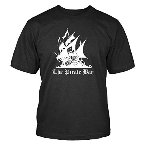 The Pirate Bay T-Shirt Size 2XL - Bay Herren Shirt