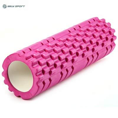 UpChoice Eva Point Yoga-Schaumstoffrolle für Fitnessstudio, Physiotherapie, Massage, Rosa