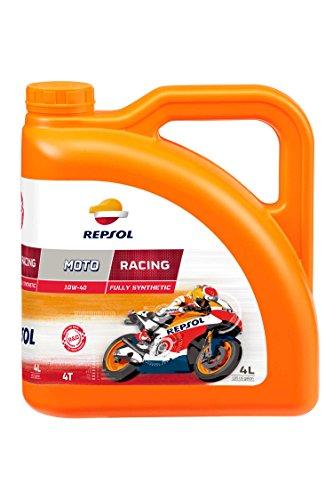 Repsol moto Racing 4T 10 W40 Olio per motore- 4 lit