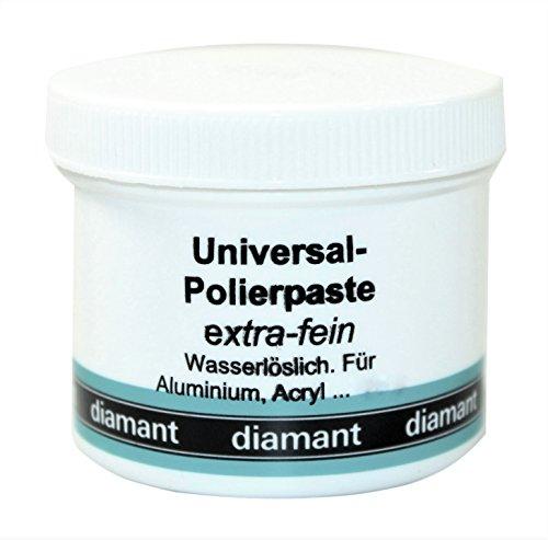 Universal Polierpaste Schleifpaste , extra-fein, Inhalt 160 g, DIAMANT