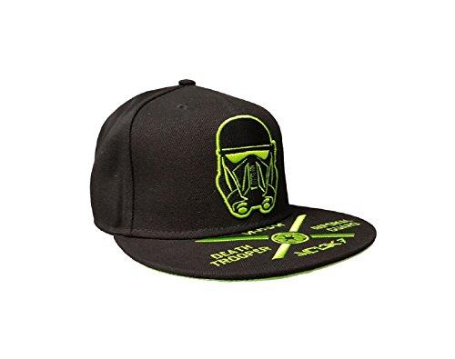Preisvergleich Produktbild Star Wars Rogue One baseball cap Death trooper Nue offiziell Schwarz Snapback