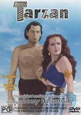 Tarzan Collection: Tarzan Triumphs / Tarzan's Desert Mystery / Tarzan and the Huntress