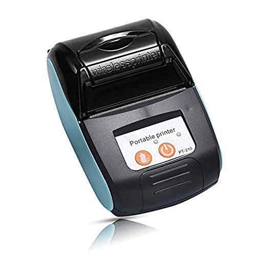 Atten Tragbare Drucker Mini Wireless Bluetooth Drucker nachladbare bewegliche Thermodrucker mit dem Computer und Telefon