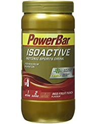 Powerbar Isoactive Red Fruit Punch - Isotonic Sports Drink, 1er Pack (1 x 600 g)