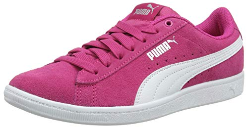 Puma Mädchen Vikky Jr Sneaker, Rosa (Beetroot Purple-Puma White 01), 39 EU