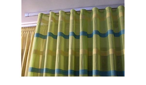 Fettuccia fascia per tenda modello onda mod wave trasparente foto