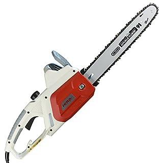 IKRA Elektro Kettensäge IECS 1835, Schnittlänge 36cm, Oregon Kette und Schwert