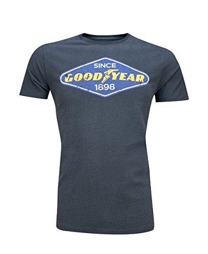 Goodyear Herren T-Shirt East Lake, Farbe:concrete grey;Größe:L
