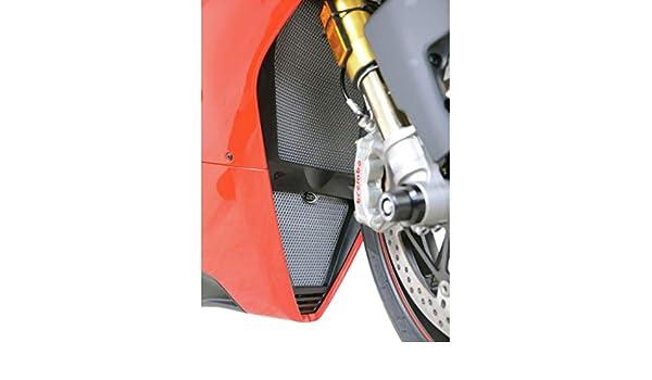 motodak protezione di radiatore R /& G RACING NERO DUCATI Panigale V4