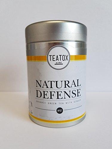Teatox Grüner Tee mit Ingwer NATURAL Defense Dose 70 g PZN 13162804