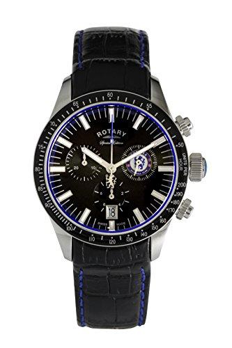 Rotary Reloj Cronógrafo para Hombre de Cuarzo con Correa en Cuero GS90048/04