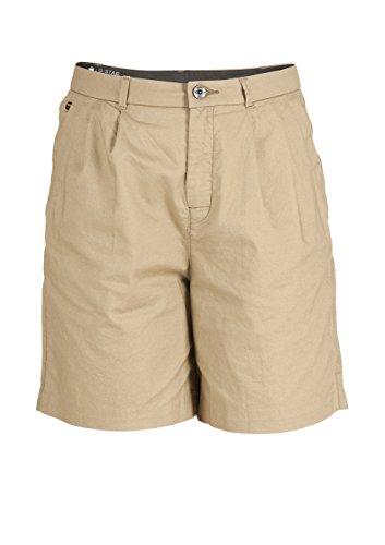 G-STAR RAW G-Star Damen Bronson High waist Loose Pleated Bermuda Shorts, Größe:W 29, Farbe:Army Green (726)
