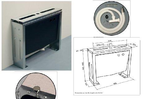Preisvergleich Produktbild Montageblock (Unterbau) SW 515 für 4- bis 5-Loch Wannenrandarmaturen zur Fliesenbankmontage-Gesamtbreite 540 mm-höhenverstellbar von 440 - 645 mm, einbaufertig vormontiert