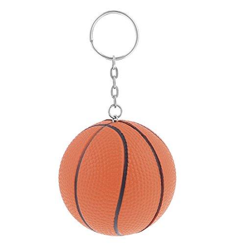 rm-Dekor-Charm Schlüsselanhänger Split Schlüsselanhänger (Basketball-dekor)