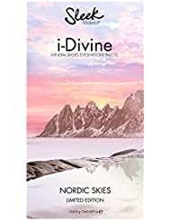 Sleek Makeup Nordic Skies I-Divine Eyeshadow Palette Limited Edition, 1er Pack (12 x 0,8 g)