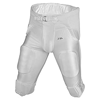 Active Athletics American Football Hose 7 Pad All in One Gamepants - weiß Gr. L