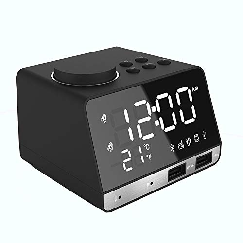 SELCNG Reloj Despertador LED hogar Verde Verde Large