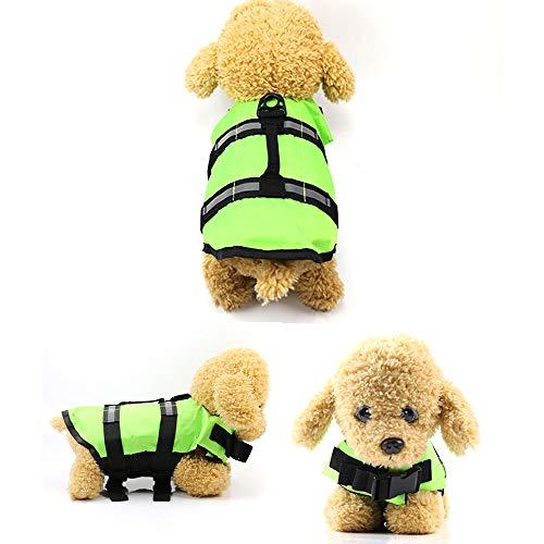 Agumx_pet Chaleco Salvavidas para Mascotas, Gato de natación para Perro, Chaleco Salvavidas...