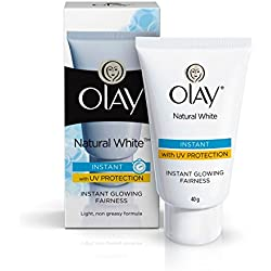 Olay Natural White Light Instant Glowing Fairness, 40gm