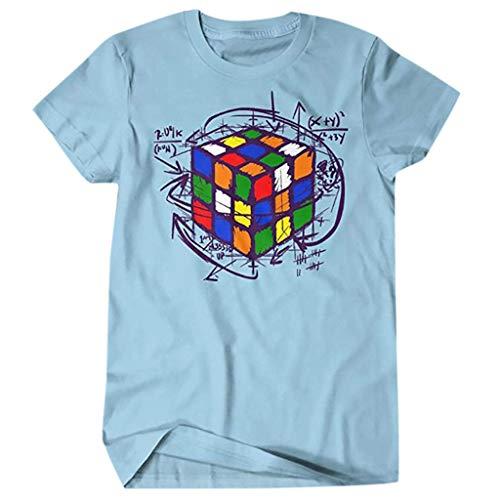 Kind Gonzo Kostüm - Auied Herren Beiläufig T-Shirt Schlank Passen Tee Drucken Tops Comfortable Fit Schlank Passen O-Ausschnitt Bluse