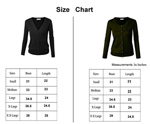Frauen Cardigan Basic, Knopfverschluss, Strickjacke Grau