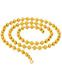 BFC- Traditional One Gram Gold Plated Boll Designer 18 Inches Short Chain For Woman And Girls